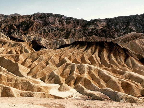 Zabriskie Point - Vallée de la mort