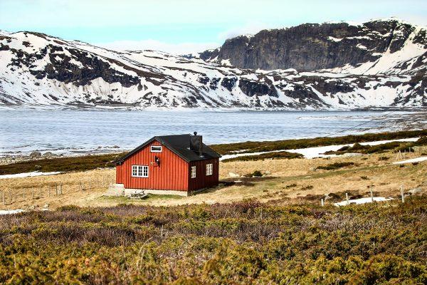 Paysage du sud de la Norvège