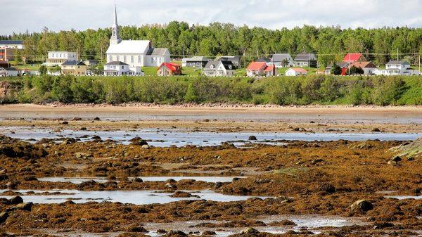 Baie Sainte Catherine, près de Tadoussac, au Québec