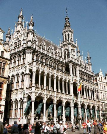 Visiter Bruxelles - la grand place