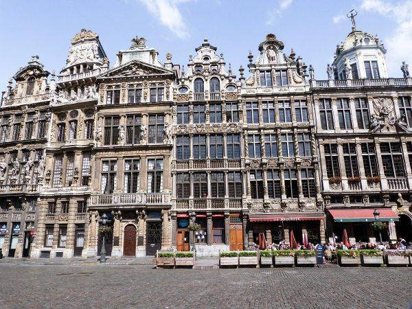 La Grand Place de Bruxelles et ses façades caractéristiques
