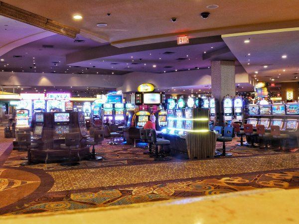 L'intérieur d'un casino de Las Vegas