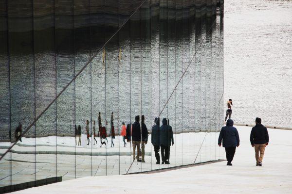 Architecture de l'opéra d'Oslo