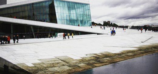Visiter Oslo : Opéra d'Oslo