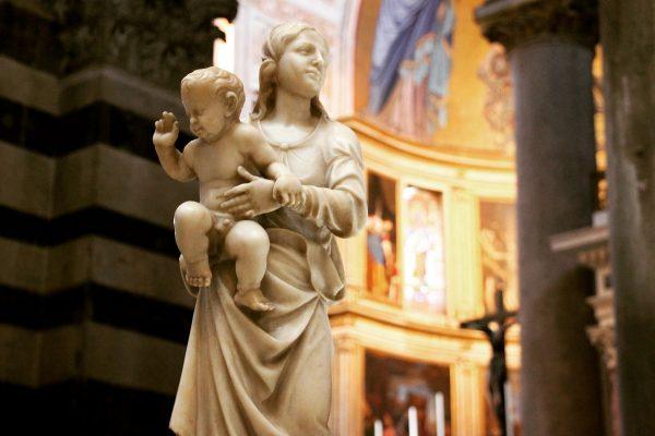 Visiter Pise - dans la cathédrale