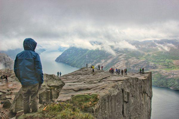 La vue sur le Pulpit Rock et le Lysebotn