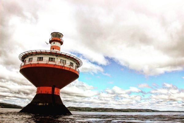 Le phare Haud-fond Prince à Tadoussac