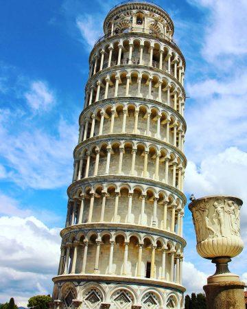 Visiter Pise : la tour penchée