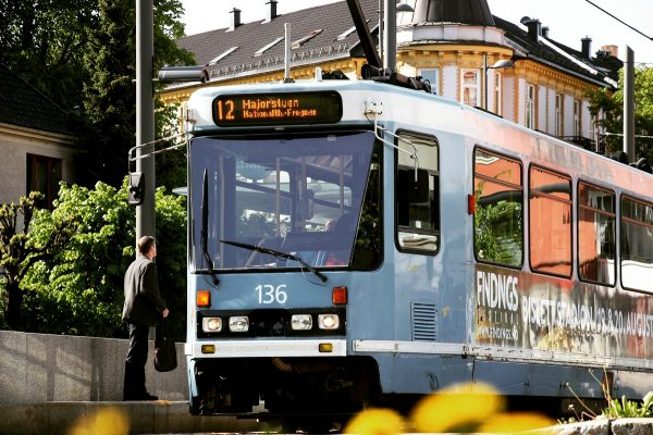 Le tram d'Oslo
