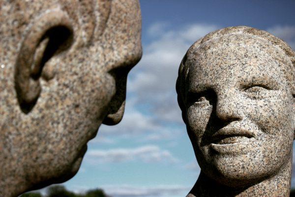 Les statues du Vigelandpark à Oslo