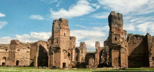 Les thermes de Caracalla, à Rome