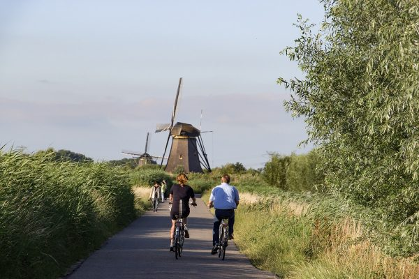 La visite de Kinderdijk à pieds ou à vélo