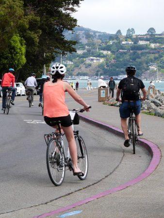 Se balader en vélo aux abords de San Francisco