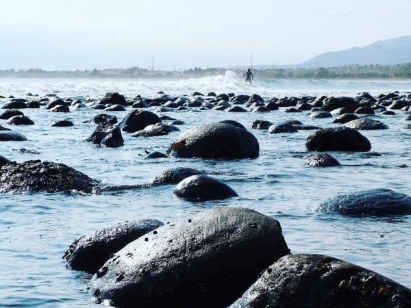 La plage de Medewi à Bali