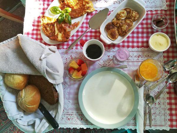Petit-déjeuner dans un bed & breakfast près de Rotterdam