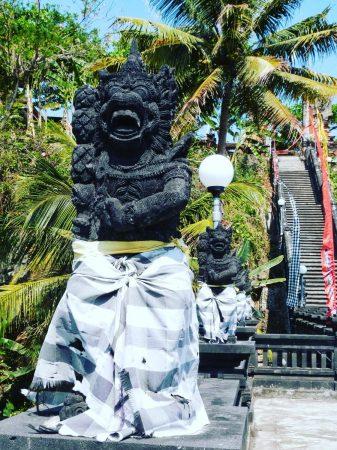 L'entrée du temple Pura Rambut Siwi à Bali