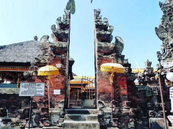 Le temple Pura Rambut Siwi à Bali