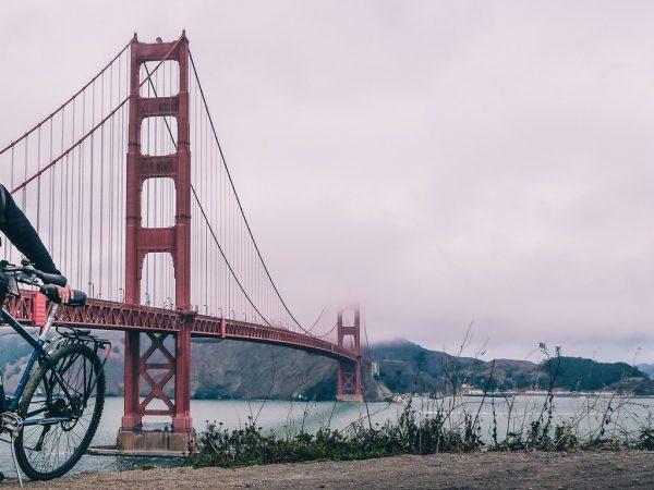 Louer des vélos à San Francisco : la traversée du pont du Golden Gate