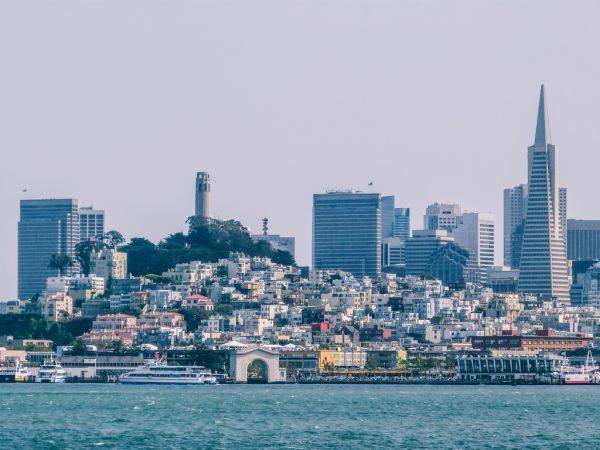 Vue sur San Francisco depuis la baie
