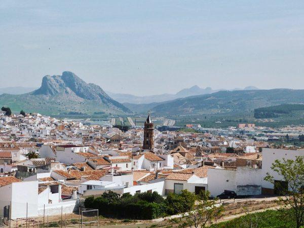 La ville d'Antequera en Andalousie