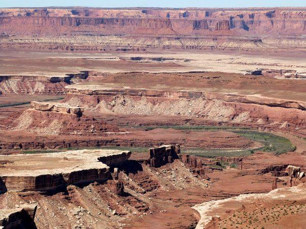La vue sur le canyon à Canyonlands