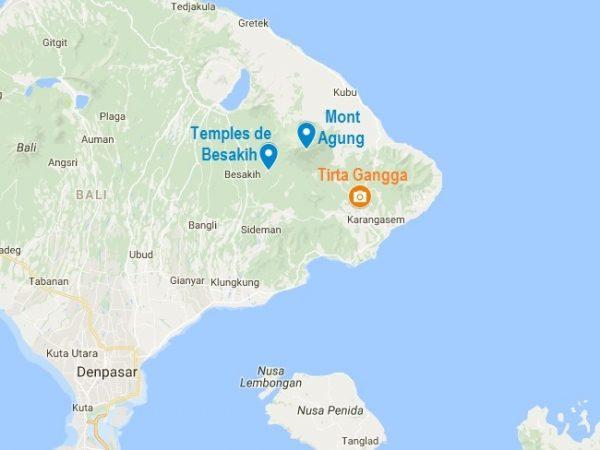 Tirta Gangga : dans l'Est de Bali