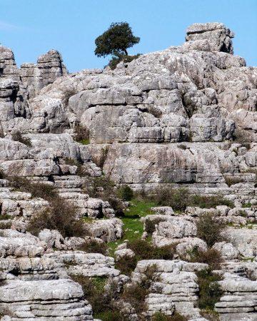 Les formations karstiques d'El Torcal