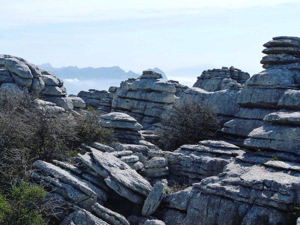 Le parc d'El Torcal en Andalousie
