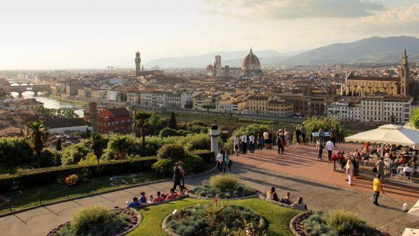 Visiter Florence : la Piazzale Michelangelo