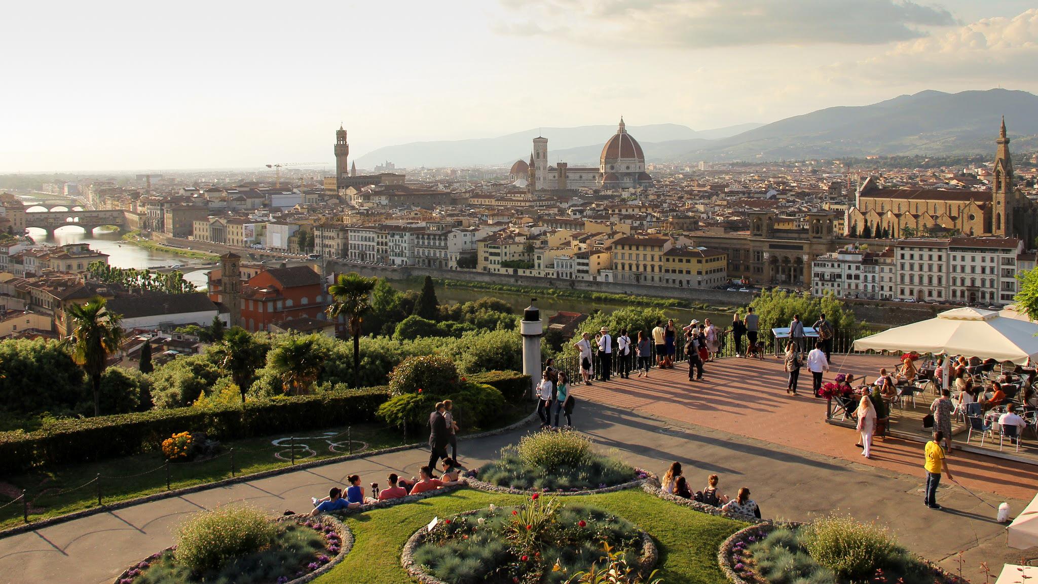 Visiter Florence La Piazzale Michelangelo