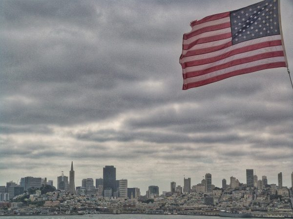 La vue sur la baie de San Francisco lorsque l'on visite Alcatraz