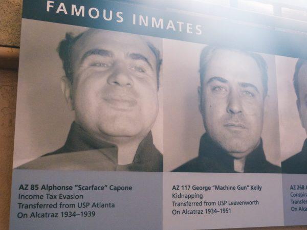 Photos de prisonniers célèbres d'Alcatraz