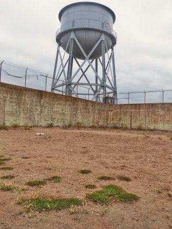 Un terrain de détente d'Alcatraz