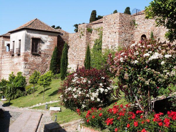 Visiter Malage : l'Alcazaba et ses jardins fleuris !