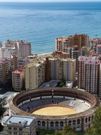 Les arènes de Malaga