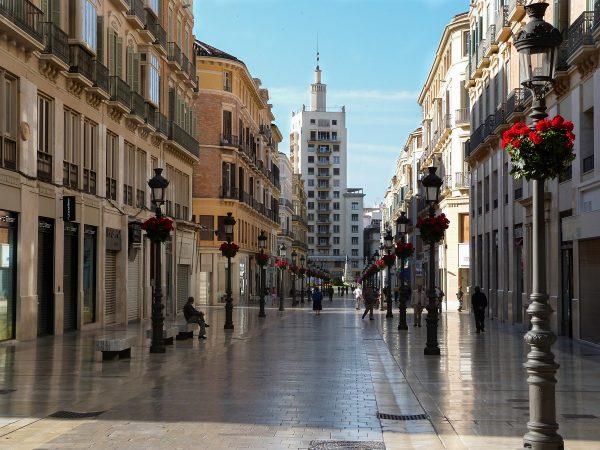 Le centre ville de Malaga