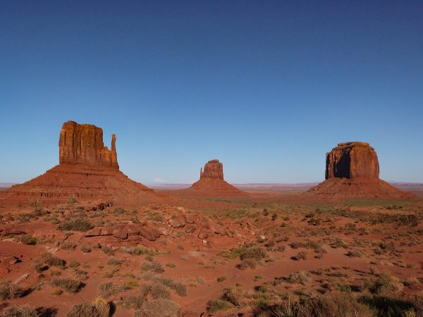 La Monument Valley : le paysage de carte postale depuis le Visitor Center