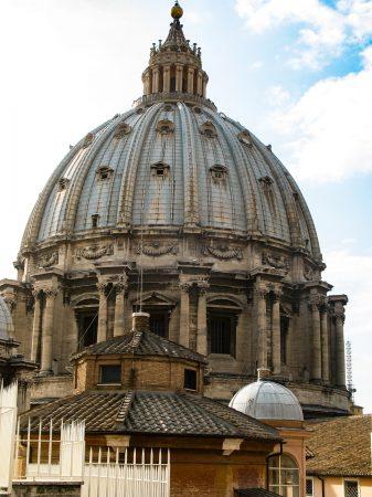 Visiter le Vatican : La coupole de la Basilique Saint Pierre