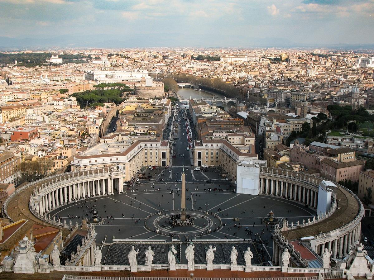 La Visite Du Vatican Offre Une Vue Magnifique Sur Rome Depuis Coupole De Basilique Saint