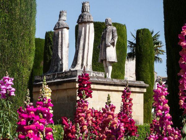 Dans les jardins de l'alcazar de Cordoue