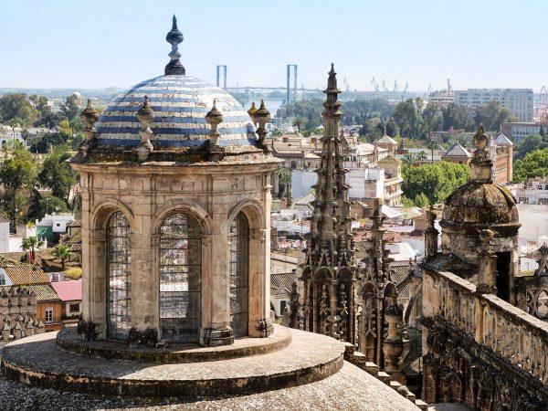 La vue depuis la cathédrale de Séville