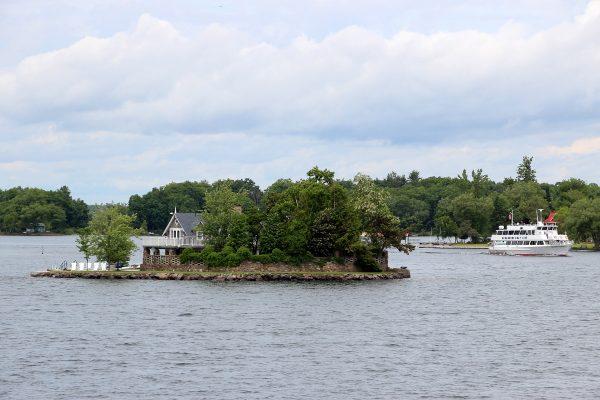 Excursion en bateau des mille îles en Ontario