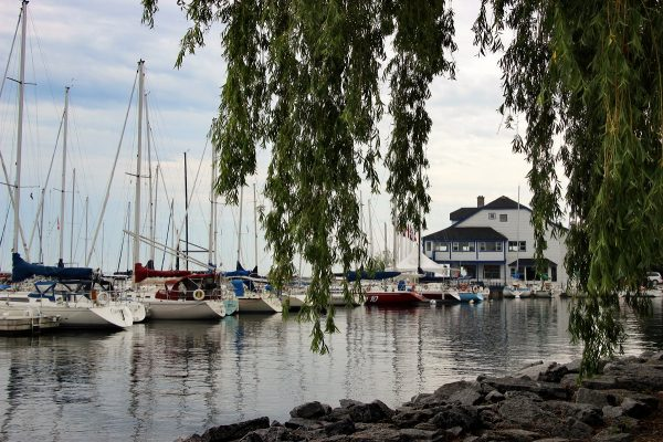 Le port de Kingston dans l'Ontario