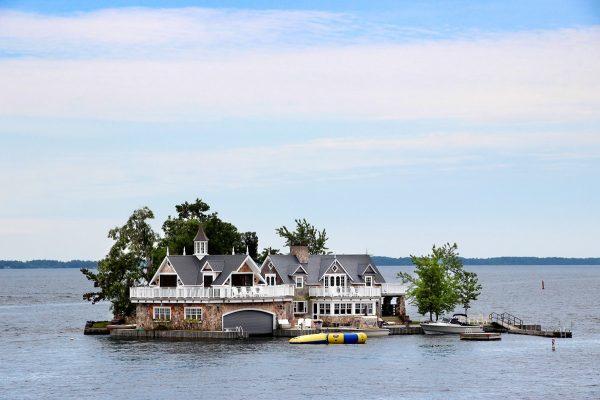Une résidence dans l'archipel des mille îles