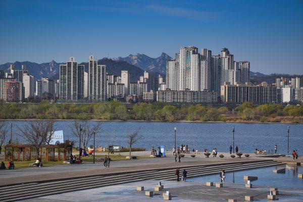 Panorama sur la ville de Séoul, capitale de la Corée du Sud