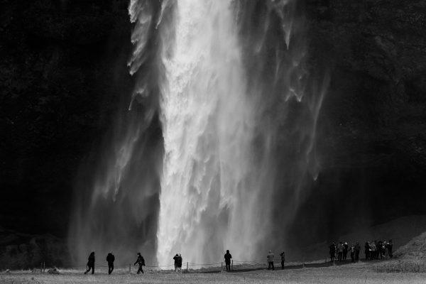 La cascade de Seljalandsfoss en Islande