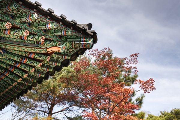 Un temple bouddhiste à Séoul