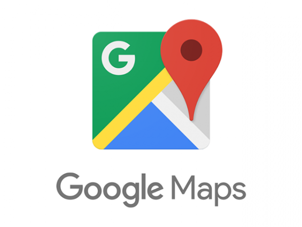 Le logo de l'application Google Maps