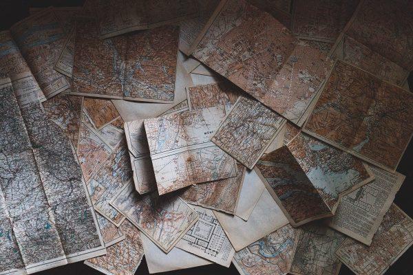 Cartes de ville au format papier