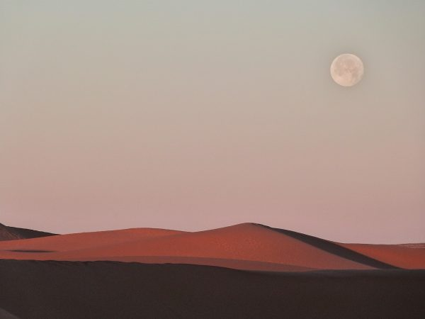 Dans le désert de Merzouga - Maroc